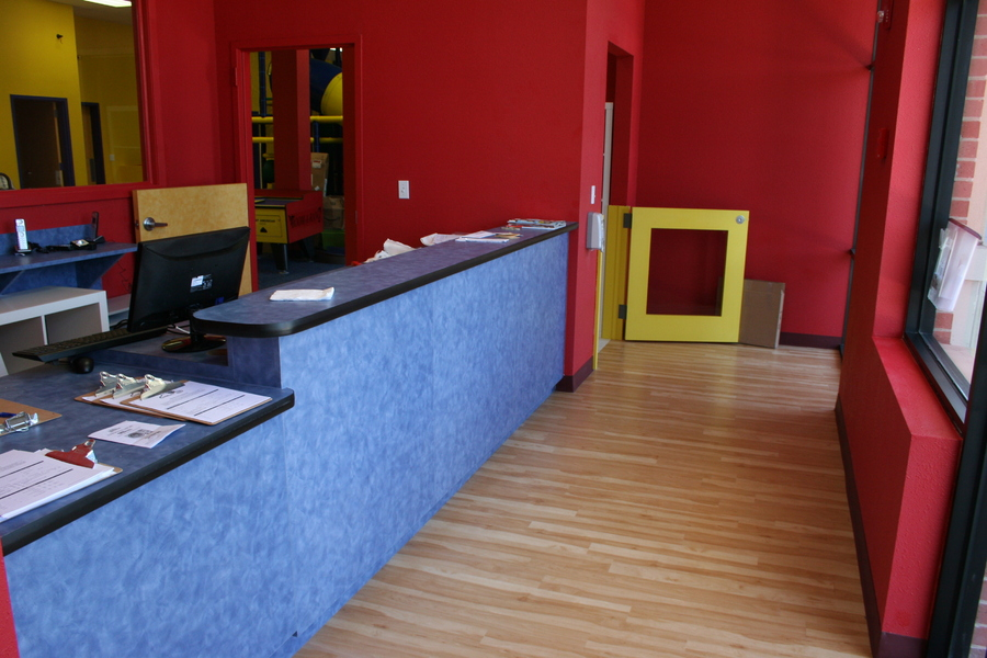Daycare Centers and Products | 0 | Reception counter with ...