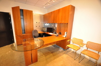 Modern Cherry Veneer Executive Office