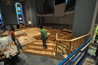 West University Baptist Stage Expansion
