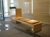 Lobby Seating - One Oak Place, Houston, Texas